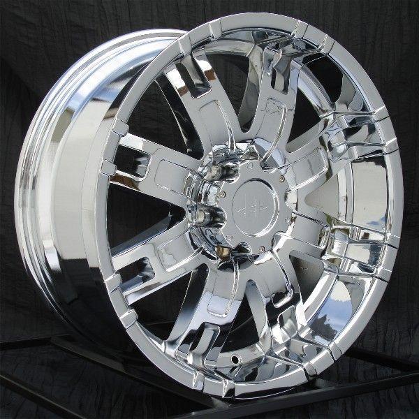 22 inch Chrome Wheels/Rims Chevy GMC Truck 1500 6 Lug