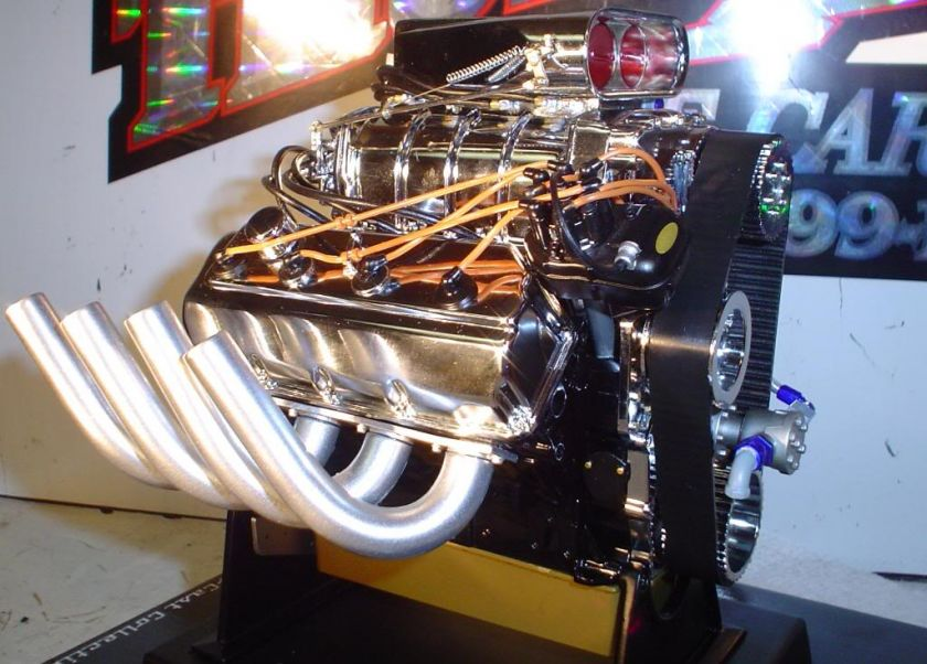MOPAR DODGE 426 HEMI BLOWN & INJECTED TOP FUEL NHRA DRAG RACING