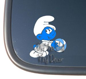 Baby Smurf Boy/Girl Vinyl Car Decal Sticker