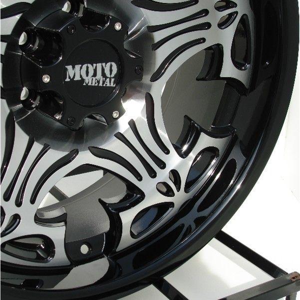 20 inch Black Wheels/Rims Chevy GMC 6 Lug 1500 Truck
