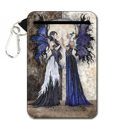Two Sisters Fairies Amy Brown Cell Phone Case/Pouch  LG |