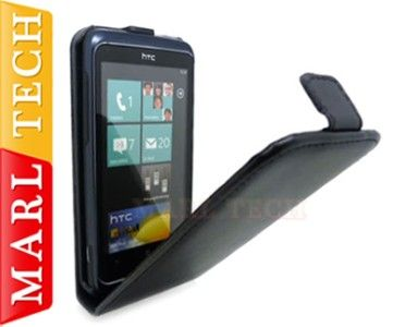 FLIP CASE COVER POUCH FOR HTC 7 TROPHY WINDOWS MOBILE PHONE