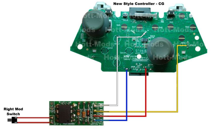 COD MW3 READY   Xbox 360 Controller Rapid Fire Mod Kit